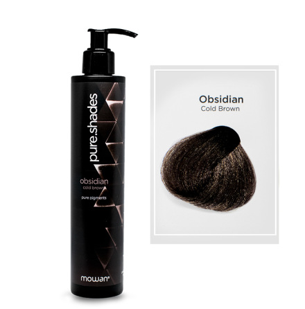 Pure Shades färginpackning | Obsidian cold brown