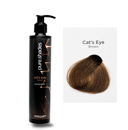 Pure Shades färginpackning | Cat's eye brown