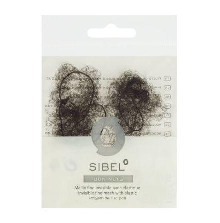 Litet hårnät Mörkbrun Chignon 2 pack